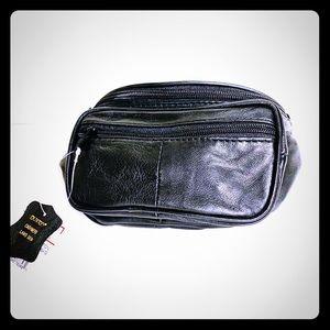 Buxton | Fanny Pack Bike Bag Black Mini NWT Lamb